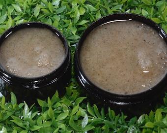 Exfoliating + Moisturizing Raw & Organic Sugar Scrub
