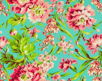 NEW!  Designer Ironing Board Cover - Amy Butler Love Bliss Bouquet Teal