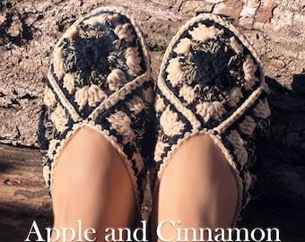 Crochet Slippers, House Slippers, Women Slippers, House Shoes, Slippers Socks, Knitted Indoor Slipper, Handmade Knitted, Slippers pattern