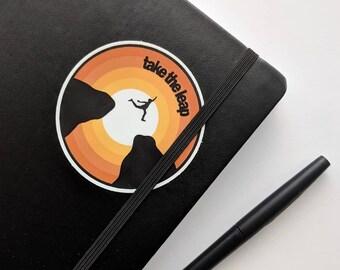 Take the Leap Sticker