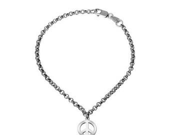 ON SALE Peace Anklet Bracelet