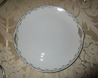 GERMANY KPM SERVING Plate with Handles