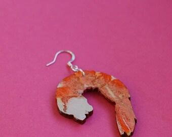 ONE Shrimp Earring