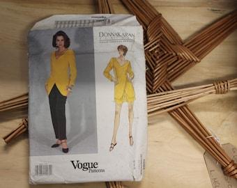 Vintage Sewing Pattern Donna Karan New York DKNY | Vogue Pattern No 1094 Size 12-14-16 | Uncut pattern |  Jacket Skirt Short Suit