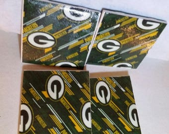 Green Bay Packers Tile Coaster