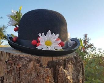 Mary Poppins Hat, Mary Poppins Costume, Tea Party, Nanny Costume, Jolly Holiday