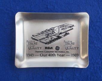 RCA trinket tray