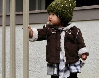 Pom Beanie (Toddler/Child Size)