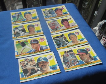 Lot Of Retro Topps Assorted Baseball Cards 1990