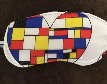 I Heart Mondrian Sleep Mask