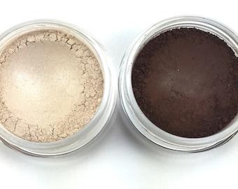 Pin Up Cosmetics Starlet Vegan Mineral Eye Shadow Duo