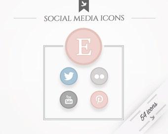 Social media icons - universal