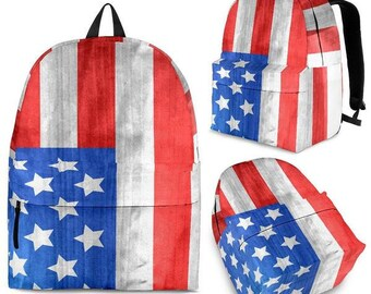 American Flag - Backpacks