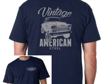 Chevy Truck T Shirt Vintage Chevy Apache 1958