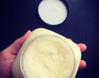 Creamy Fine Sea Salt Body Scrub • 12 oz • Moisturizing without Greasiness • Gift • Smooth Body Care • Exfoliating • Emulsified Scrub