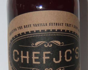 Chef JC's Madagascar Vanilla Extract 25.7 oz