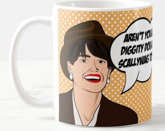 Broad City - Abbi's Alter Ego Val - Best Friend Inspired Coffee Mug Gift, Comedy Central TV Pop Culture