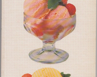 The Book of Ice Creams & Sorbets by Jacki Passmore Summer Delights