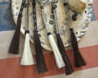 Braided Horse Hair Tassels