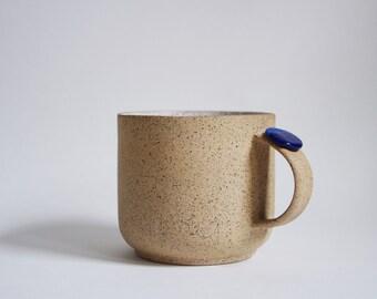 Simple stoneware mug