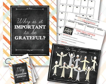 October {Come Follow Me} Why is it Important to Be Grateful? Teaching Package