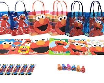 Sesame Street Elmo Party Favor Set