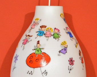 Hand painted Children's Pendant Light