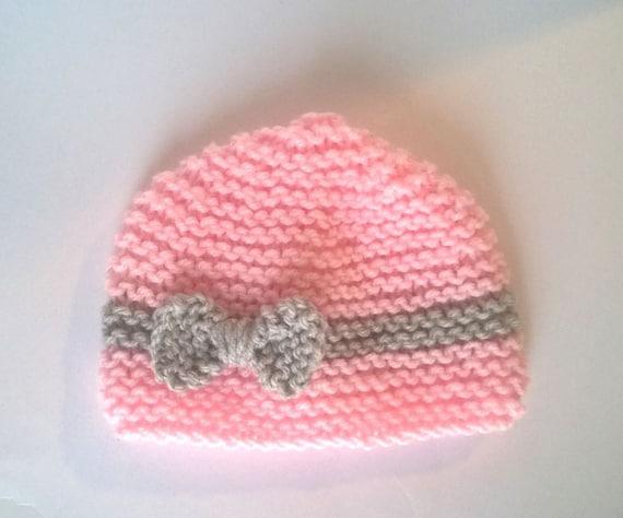 bonnet bebe naissance tricot