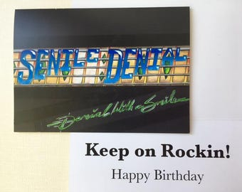 Senile Denial Birthday Card