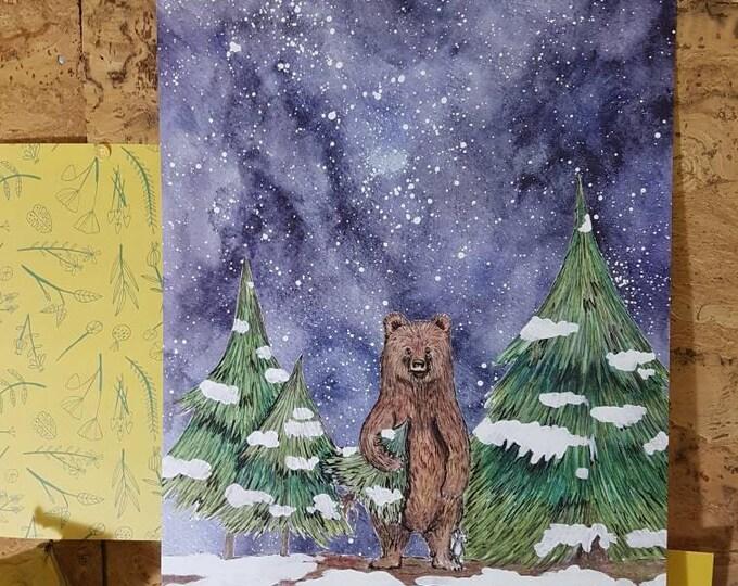 Poster Winter Studio Bereguod