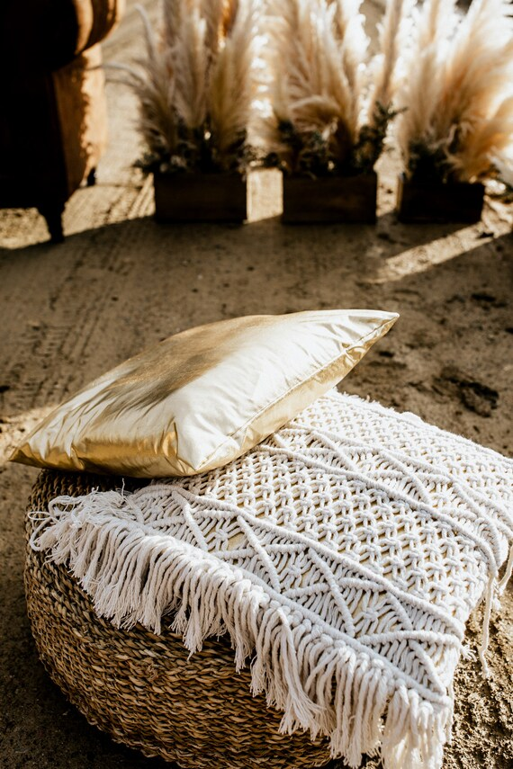 Macrame pillow cover | Etsy