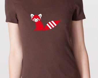 RED PANDA T-Shirt Girls