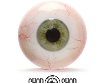 Premium Green Artificial Eyes 26mm - 28mm