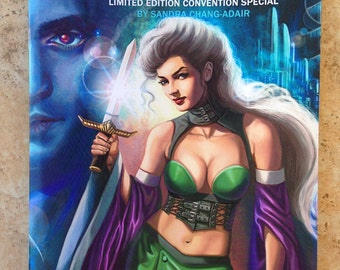 Gothic Geisha LImited Edition Convention 28-page Comic Book #3 Signed by Sandra Chang-Adair