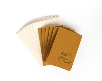 Little Card Set of 6, Aren't You Sweet, 2x3.5 with Envelope