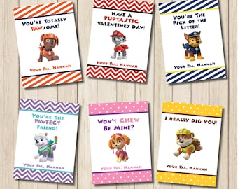 Printable CANDY VALENTINE CARDS