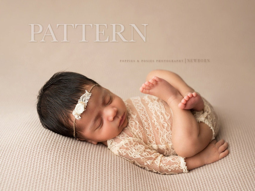 NEWBORN ROMPER PATTERN Sewing Pattern Adelynn Long Sleeve