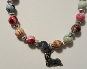 Yorkshire Terrier yorkie charm bracelet