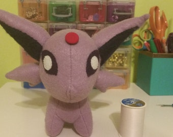Felt Espeon Eeveelution Pokemon Plush