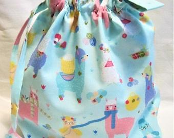 NEW - Sock Box Bottom Knitting Project Bag