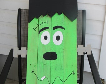Wood Pallet Frankenstein