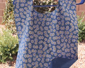 Reversible Adult Clothing Protector - Select Your Own Design - NEW FABRIC DESIGNS - Women - Men - Special Needs