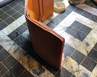Simple trifold wallet
