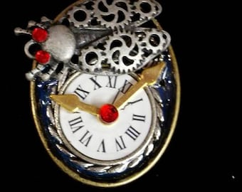 Buggy Time steampunk pendant