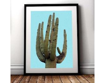 Cactus Printable Art, Modern Art, Cactus Poster, Boho Decor, Cactus Print, Art, Digital Download, Cacti, Digital Prints, Succulent Print