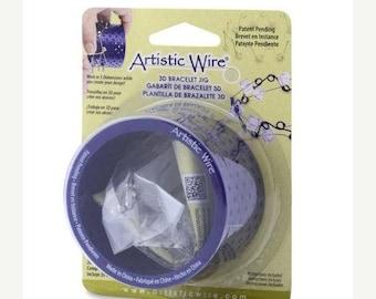 TAX Season Sale 3D Artistic Wire Bracelet Jig Wire Bending Kit