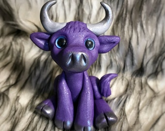 Duffy the Purple Cow