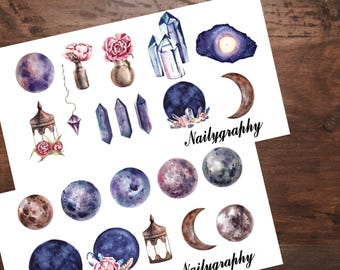 Sticker Sheets Moon Magic
