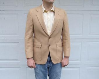 1970s Men's Camel Hair blazer, sportcoat