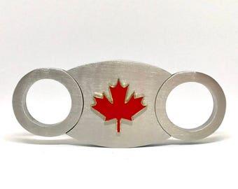 Canadian Maple Leaf Cigar Cutter